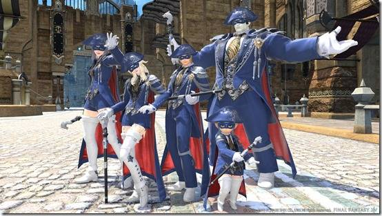 Final Fantasy XIV Gets New Screenshots For Blue Mage, New Dungeon And Gear Set For Patch 4.5