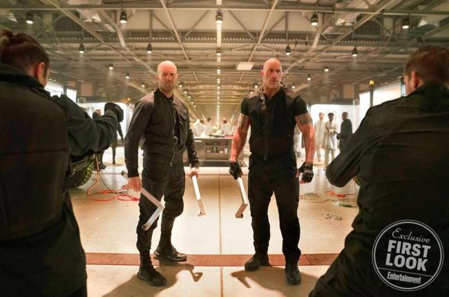 Hobbs & Shaw: The Rock And Jason Statham Get Ready In Fast & Furious Spin-Off Image