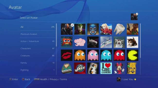Here's the Complete 20-Page List of Free PS4 Avatars and How to Get Them All
