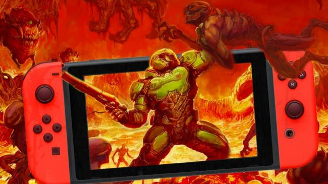 DOOM for Nintendo Switch Gets a Performance Bump, Video Capture, and More for the Series' 25th Anniversary