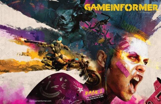 January Cover Revealed – Rage 2