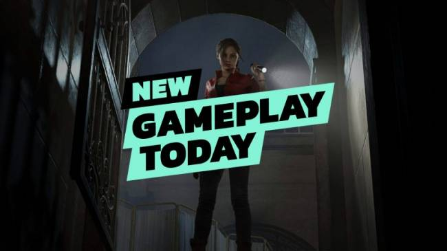 New Gameplay Today – Resident Evil 2 Remake