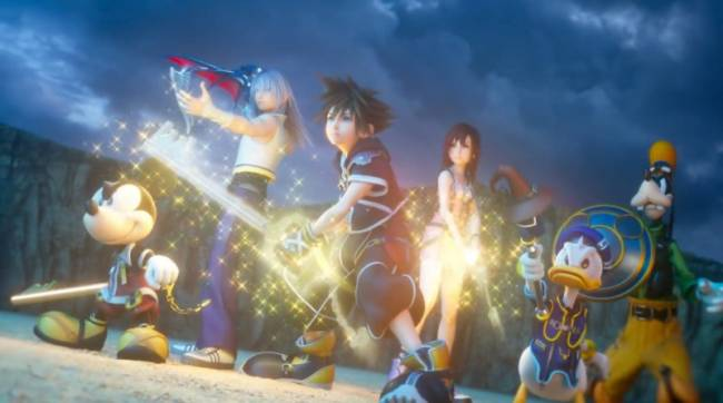 New Kingdom Hearts III Trailer Shows Off Opening Cinematic