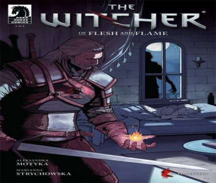 New Witcher Comic Book Series Begins Today
