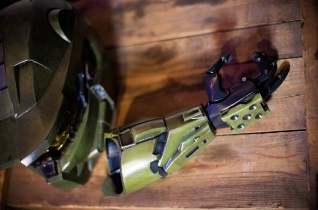 Limbitless And 343 Collaborate On Prosthetic Master Chief Arm