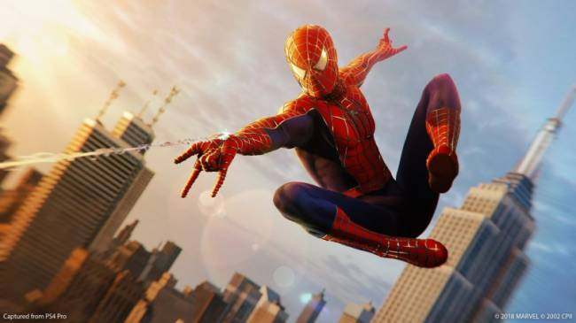 'Raimi Suit' Added To Spider-Man As A Free Holiday Gift From Insomniac