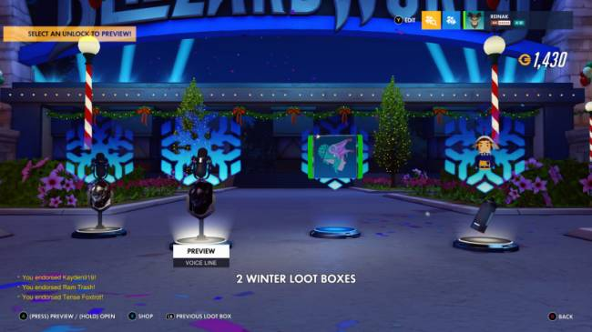 Overwatch Gives All Players Five Free Winter Loot Boxes