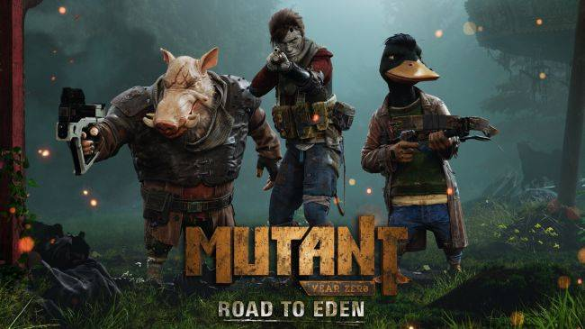 Mutant Year Zero: Road to Eden, explore the wastelands like Fallout, fight baddies like XCOM