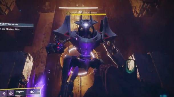 A bug made a Destiny 2 boss triple its normal size, and it is freakin' huge