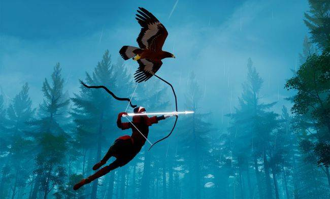 The Pathless is a supernatural forest adventure from the makers of Abzu