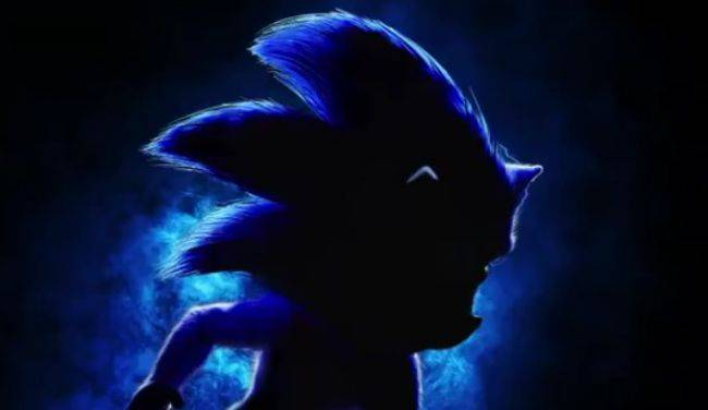 The first Sonic the Hedgehog live action movie poster is creepy as hell