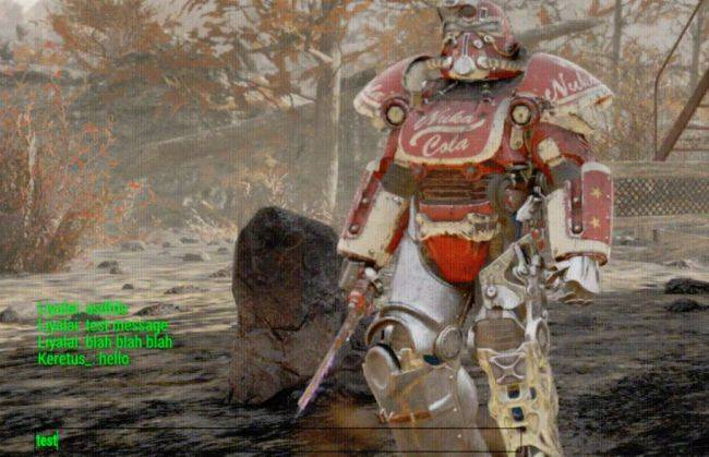 Fallout 76 mod adds proximity text chat