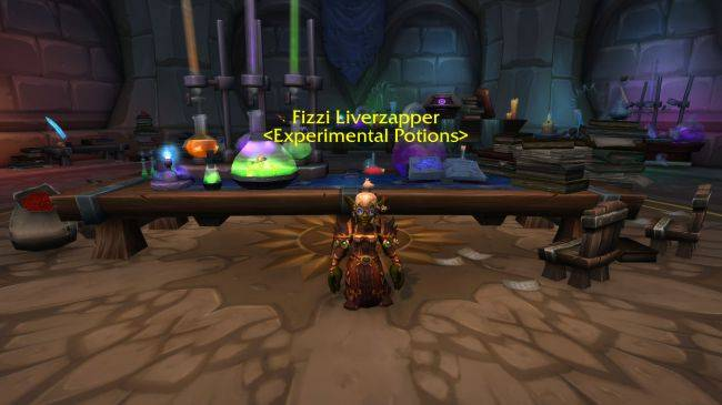 A World of Warcraft potion makes cross-faction chat possible