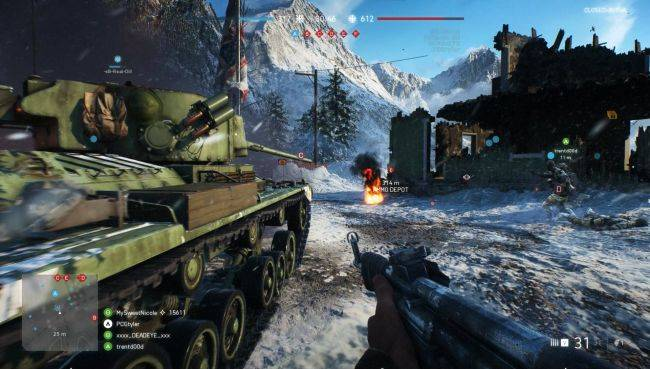 Battlefield 5's guns are going back to normal, thank goodness