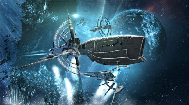 EVE Online's holiday update appropriately has more fighting than festivities
