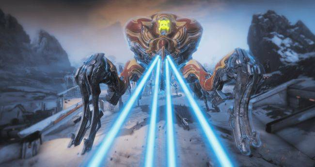 Squash a giant robot spider in Warframe's new update
