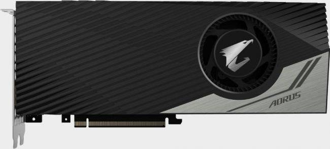 Gigabyte launches an overclocked GeForce RTX 2080 Ti with a blower-style cooler