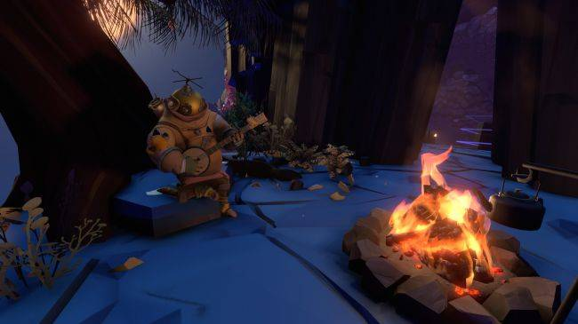Outer Wilds, the game of cosmic exploration and campfires, is delayed into 2019