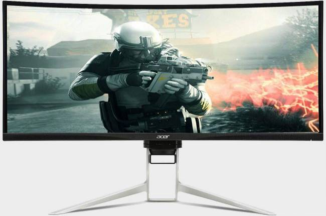 Acer's 34-inch FreeSync monitor is a big display for gaming with a large price