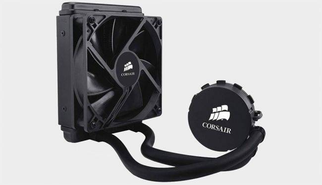 Corsair's Hydro H55 all-in-one liquid CPU cooler is on sale for $50 today