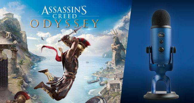 Grab a Blue Yeti microphone and Assassin's Creed Odyssey for $76