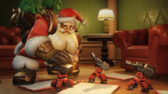 Get five free Overwatch winter loot boxes