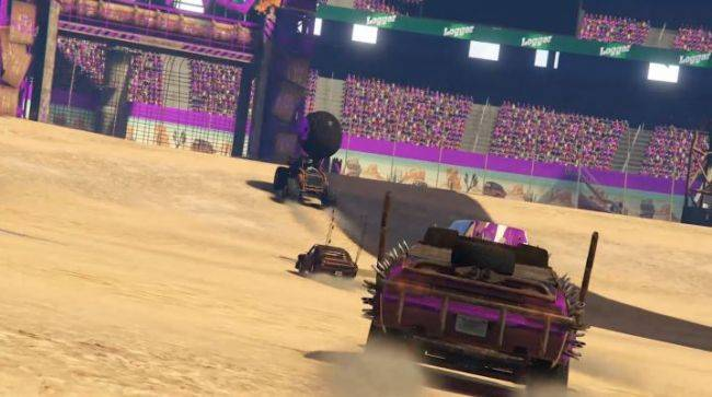 GTA Online now has its own version of Rocket League, called Bomb Ball