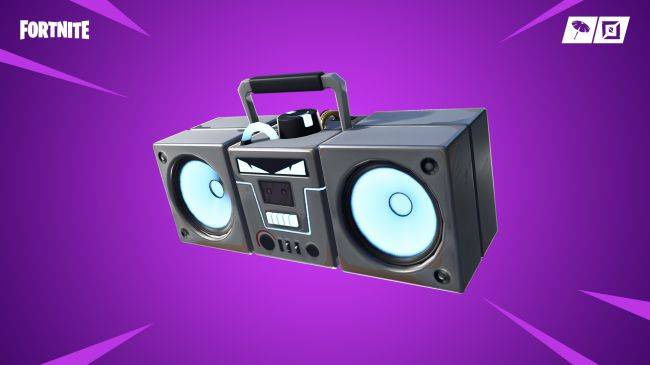 Fortnite's newest item is a boombox that destroys buildings