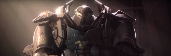 Anthem tries to sell you on slick skins and inspirational speeches