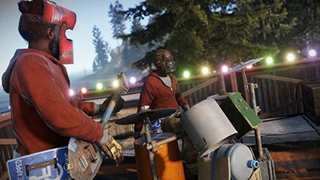 Rust's new Instruments DLC lets you shred the shovel bass