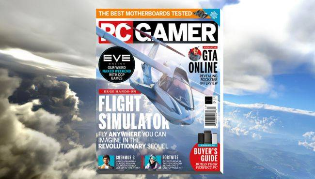 Get a year's subscription to PC Gamer magazine for just $23.04