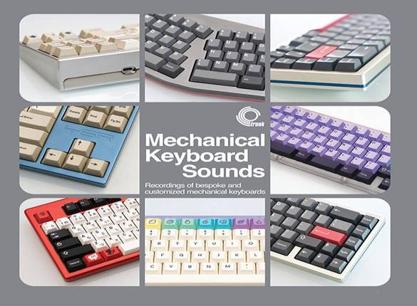 You can now buy a vinyl record full of mechanical keyboard sounds