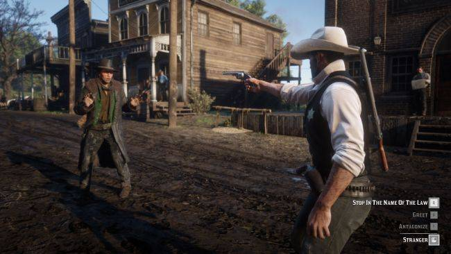 This Red Dead Redemption 2 mod will let you switch sides and become a lawman