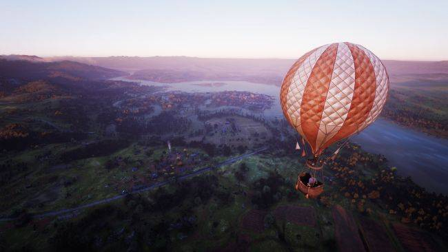 This Red Dead Redemption 2 mod lets you spawn a flyable hot air balloon