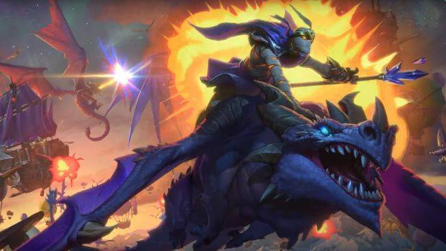 Hearthstone: Descent of Dragons is live