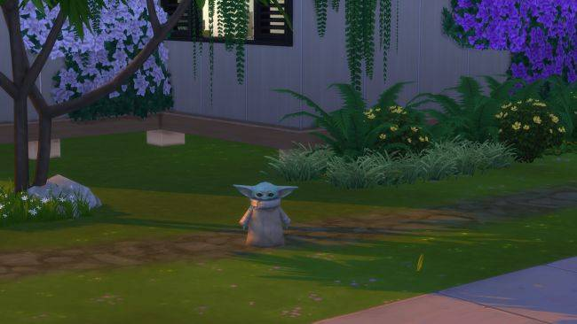 Baby Yoda is now in The Sims 4