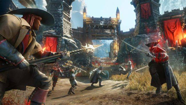 History and magic collide in MMO New World, releasing May 2020