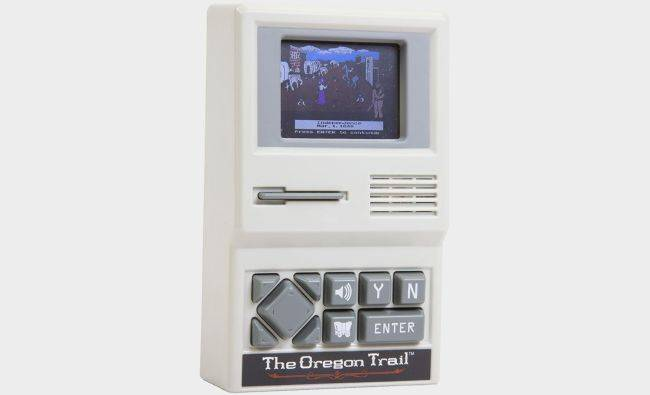 Get the Oregon Trail handheld game for just $8.50 right now