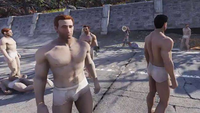 Players are apparently hacking human NPCs into Fallout 76