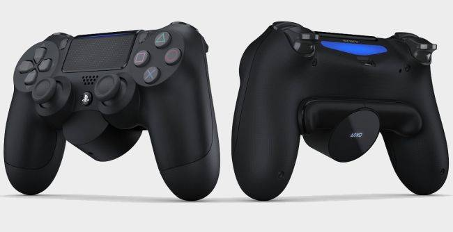 Sony's new $30 DualShock 4 attachment adds back buttons and an OLED display