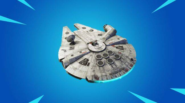 Fortnite is giving away a Millennium Falcon glider for Winterfest