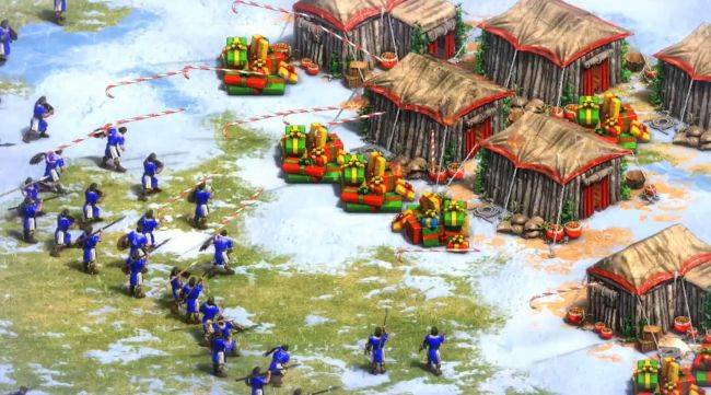 Age of Empires 2: Definitive Edition's official Christmas mod might not be entirely historically accurate
