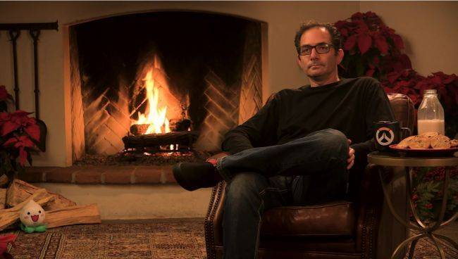 The Overwatch Yule Log returns on Christmas Eve