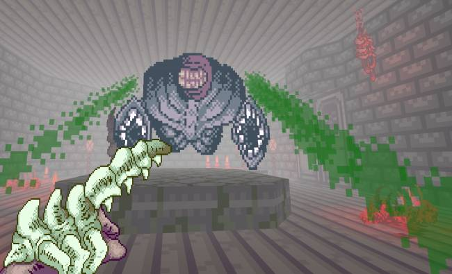 Butcher some cosmic horrors in Doom 2 mod Shrine