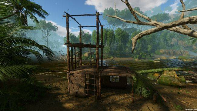 Jungle survival sim Green Hell now has multi-story mud huts, co-op soon