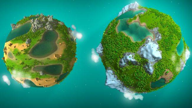 God game The Universim enters beta with fancy new planets