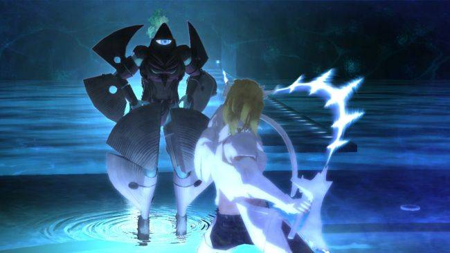 Cult psychedelic action game El Shaddai: Ascension of the Metatron is coming to PC