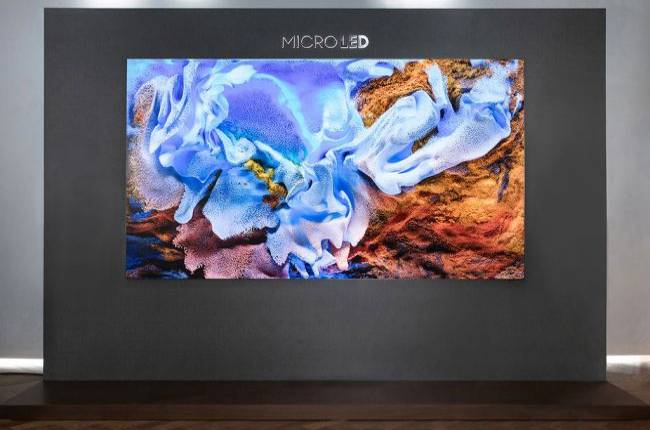 The first Micro LED TV has arrived but it's 110 inches and undoubtedly stupid expensive