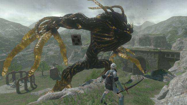 Watch some Nier Replicant gameplay in a new trailer at The Game Awards