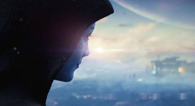 The next Mass Effect has a teaser and it sure looks like Liara's in it
